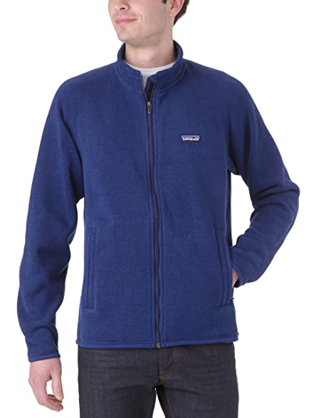 Amazon.com: Patagonia Better Sweater Jacket - Men's Black X-Small ...