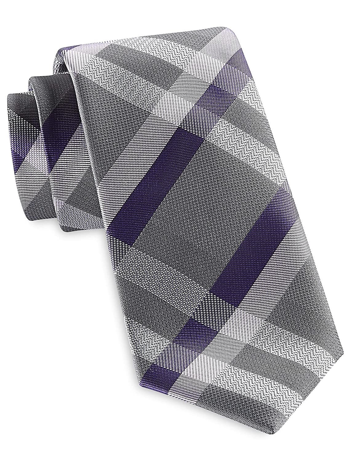 Synrgy by DXL Big and Tall InteliStretch Performance Large Plaid Tie
