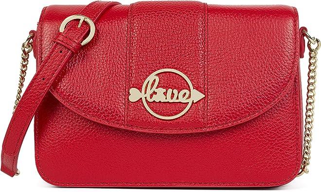 Tous Alfa Love Day, Bolso bandolera para Mujer, Rojo (Red), 5x13x21 cm (W x H x L)
