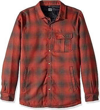 Quiksilver Hombre EQYWT03521 Camisa con Botones - Verde - X-Large: Amazon.es: Ropa y accesorios