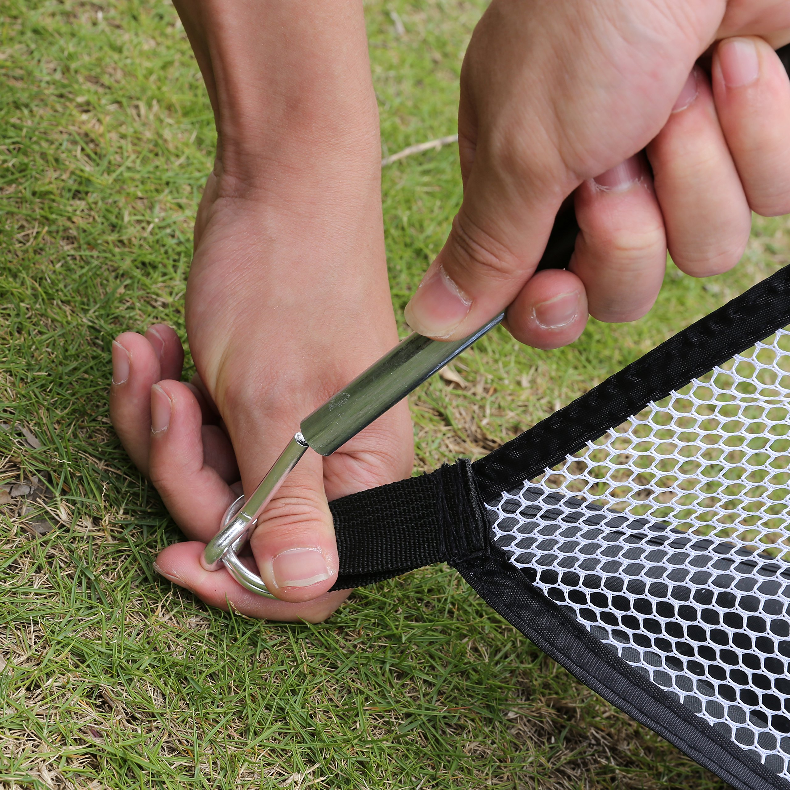 OUTCAMER Golf Hitting Net 10 x 7 ft Collapsible Portable Golf Practice Driving Net for Backyard Training Indoor and Outdoor by OUTCAMER (Image #6)
