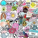 70 VSCO Stickers, Aesthetic Stickers, Cute Stickers, Laptop Stickers, Vinyl stickers, Stickers for Water Bottles, Waterproof