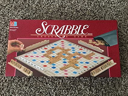 Amazon Com Scrabble Board Games Toys Games