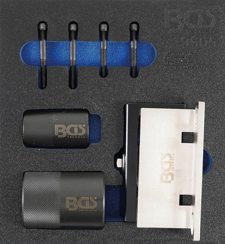Bgs 9605 Werkstattwageneinlage 1 6 Nockenwellen Haltewerkzeug Und Kurbelwellendichtring Werkzeug Satz Für Ford Volvo 2 5 Turbo Baumarkt