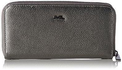 Palermo, Womens Wallet, Grau (Gun), 2,5x10x20 cm (B x H T) Ara