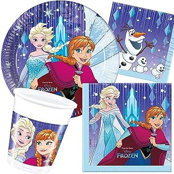 37 Juego de * Frozen - Snowflake * Fiesta de cumpleaños para ...