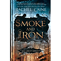 Smoke and Iron (The Great Library Book 4) book cover
