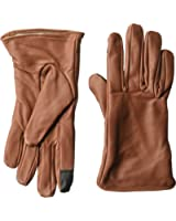 Dwellbee Women's Classic Leather Winter Gloves (French Morocco Leather)