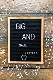 "Felt Letter Board 12x16"" with 262 PRE-Cut Large"
