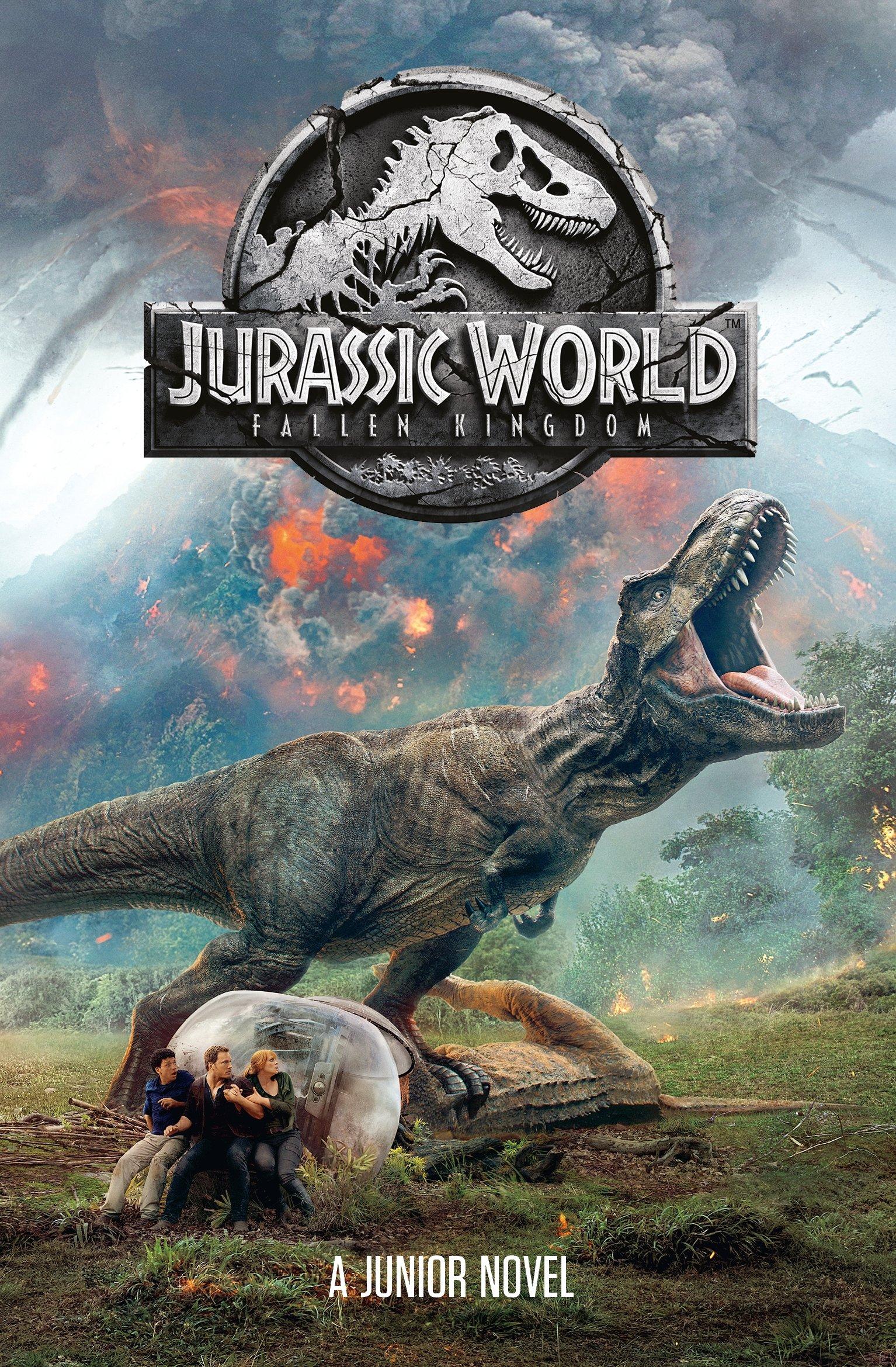 Jurassic World: Fallen Kingdom Junior Novel: Amazon co uk