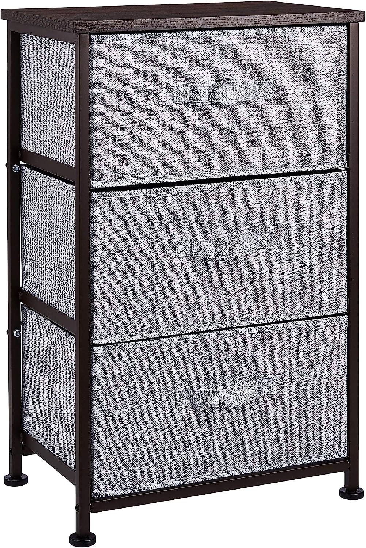colore: bronzo Basics Cassettiera 3 cassetti in tessuto per l/'armadio