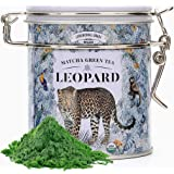 Japanese Matcha Green Tea Powder - Ceremonial Grade (1 oz – 25 servings). USDA Organic. Leopard Matcha is brimming with powerful antioxidants to burn fat and for healthy looking skin.