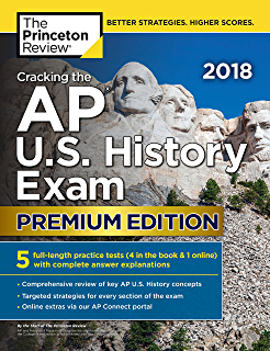 Amazon cracking the ap environmental science exam 2018 edition cracking the ap us history exam 2018 premium edition college test preparation fandeluxe Image collections