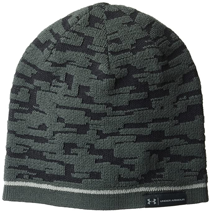 54f2dd0f52243 Amazon.com  Under Armour Men s Reversible Graphic Beanie