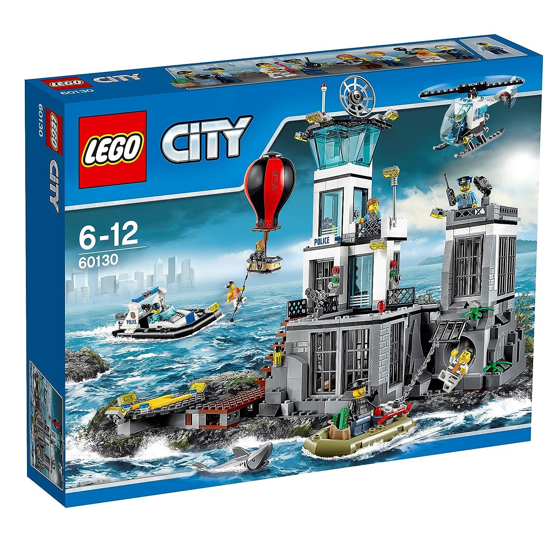 LEGO City 60130 - Polizeiquartier auf der Gefängnisinsel ...