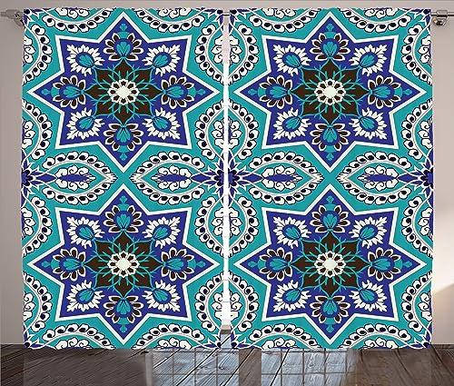 Ambesonne Orient Curtain