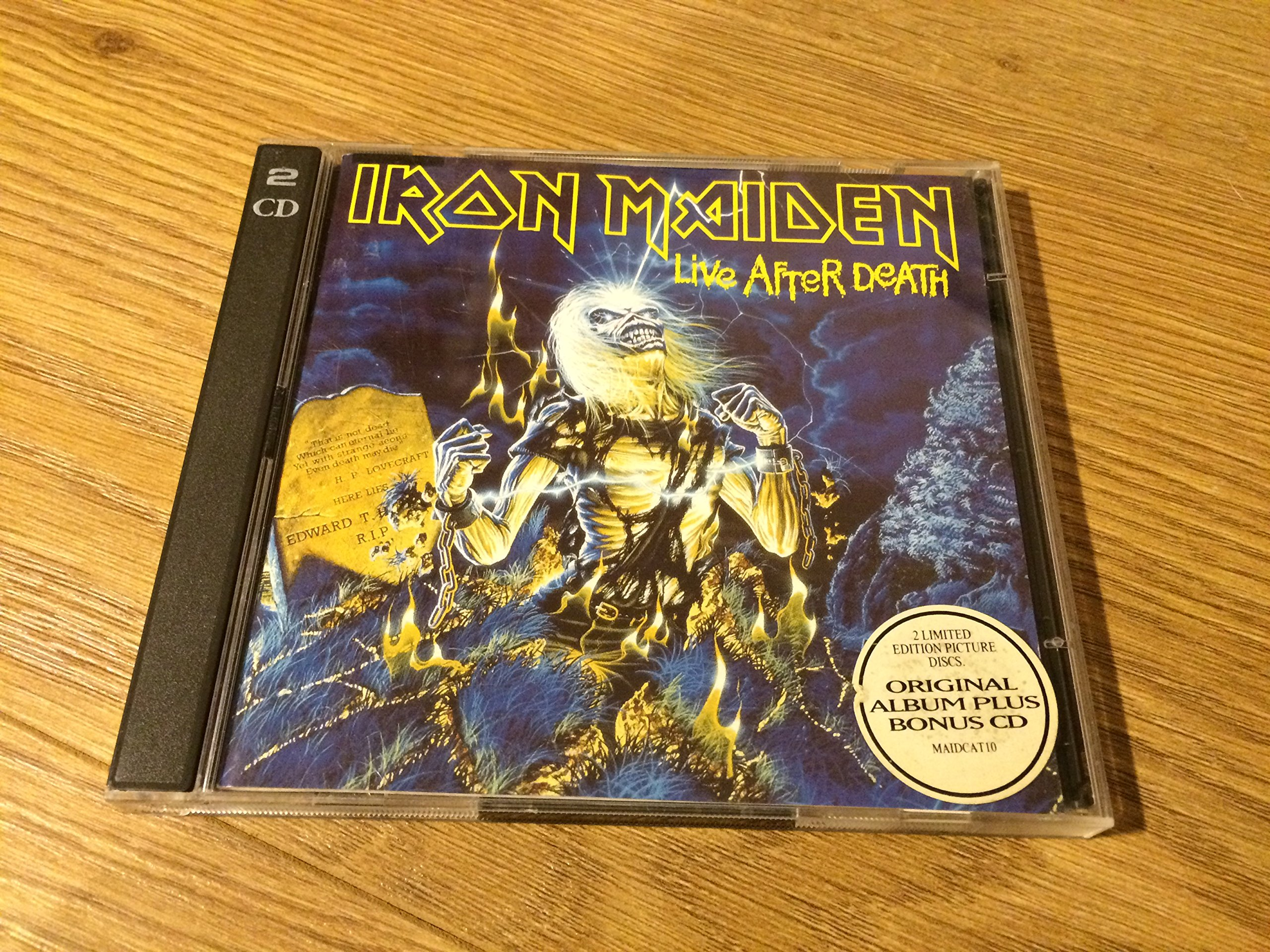 Iron Maiden-Live After Death-(724383587322)-REPACK-LIMITED EDITION-2CD-FLAC-1995-WRE Download