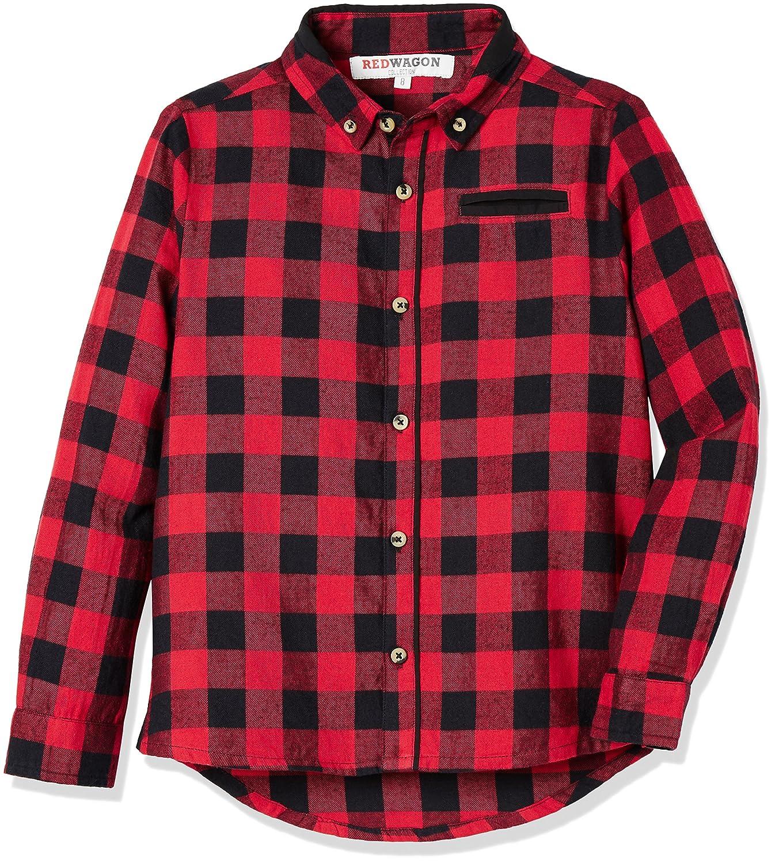 RED WAGON Jungen Kariertes Hemd