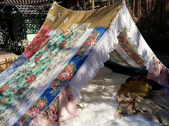 Image Unavailable & Amazon.com: Boho Gypsy tent shabby chic glamping teepee hippiewild ...