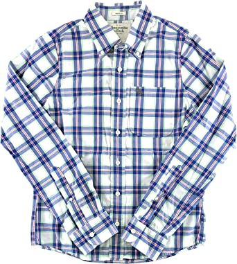 Amazon Com Abercrombie Fitch Camisa De Manga Larga Para Hombre Clothing