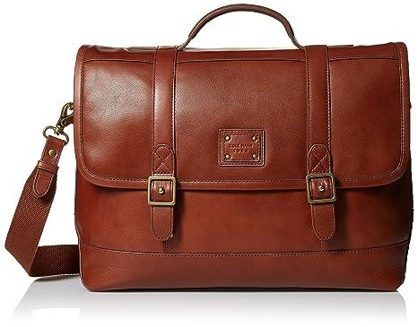 9a19b6f122 Amazon.com: Cole Haan Men's Van Buren Leather Briefenger, British ...