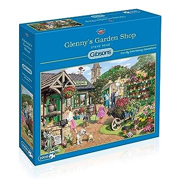 8f88f3d683b8 Gibsons Glenny's Garden Shop Jigsaw Puzzle, 1000 piece: Amazon.co.uk ...