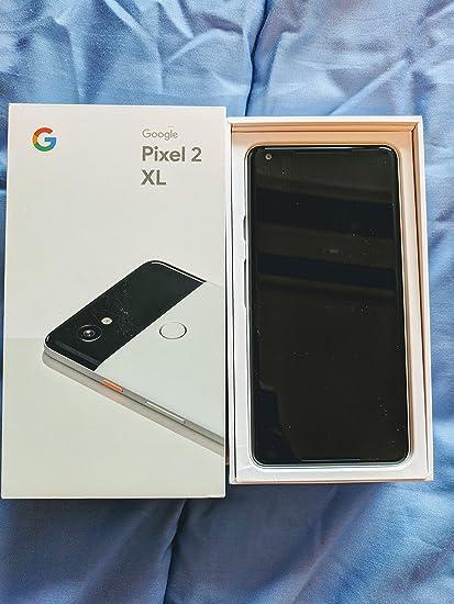 Pixel 2 XL Unlocked GSM/CDMA (Black/White, 128GB)
