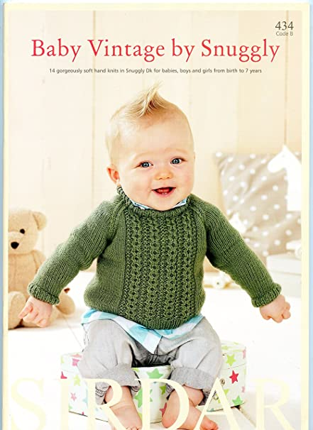 Amazon Sirdar Baby Vintage By Snuggly 434 Knitting Pattern Book