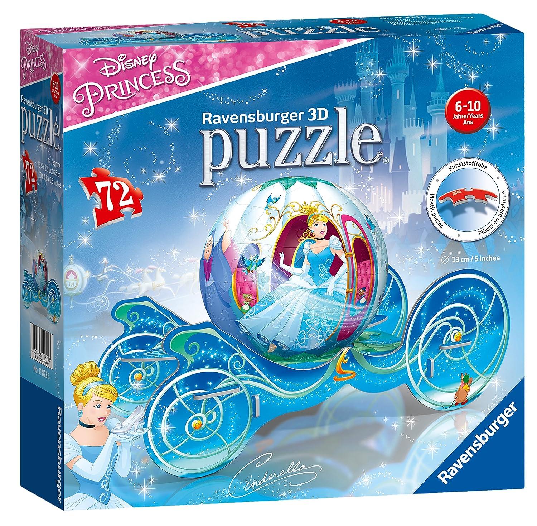 Ravensburger 11823 - Cinderella Kutsche 3D-Puzzle Ravensburger Spielverlag 118236 Non Books Puzzles (3D-Puzzles)