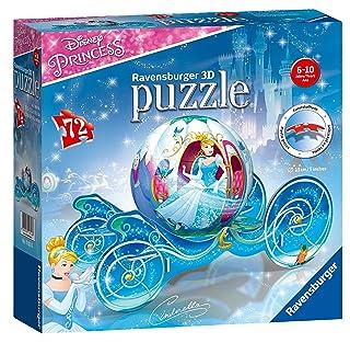 Ravensburger 3D Puzzle Cinderella Kutsche 118236