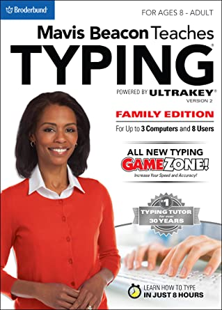 1c34051615 Amazon.com  Mavis Beacon Teaches Typing Powered by Ultrakey v2 - Family  Edition for Mac  Download   Software