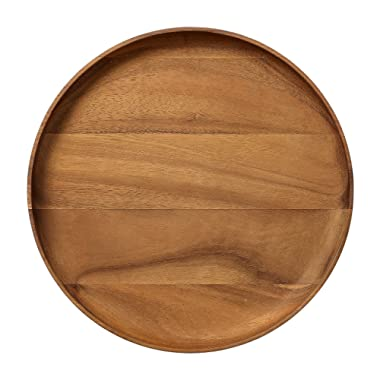 Bloomingville A23300003 Round Acacia Wood Serving Tray
