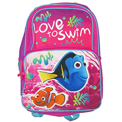 "Disney Finding Dory Pink 16"" Cargo Backpack"