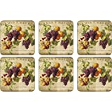 Pimpernel Abundant Fall Coasters - Set of 6