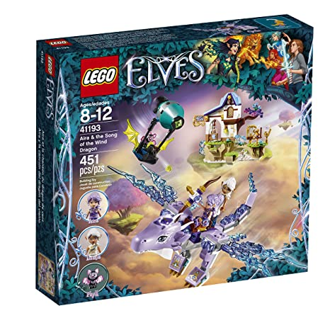 Amazon.com: LEGO Elves Aira & the Song of the Wind Dragon 41193 ...