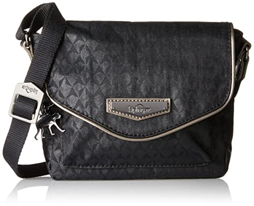 Kipling Kassandra S, Women's Cross-Body Bag, Schwarz (Black Ink Emb)