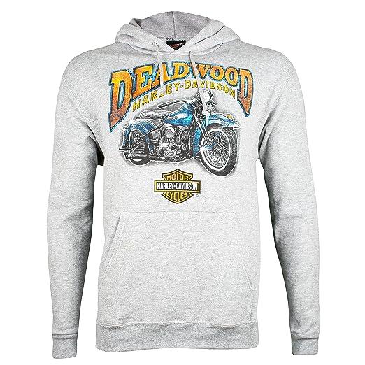 Amazoncom Harley Davidson Deadwood Mens Vintage Mint Pullover