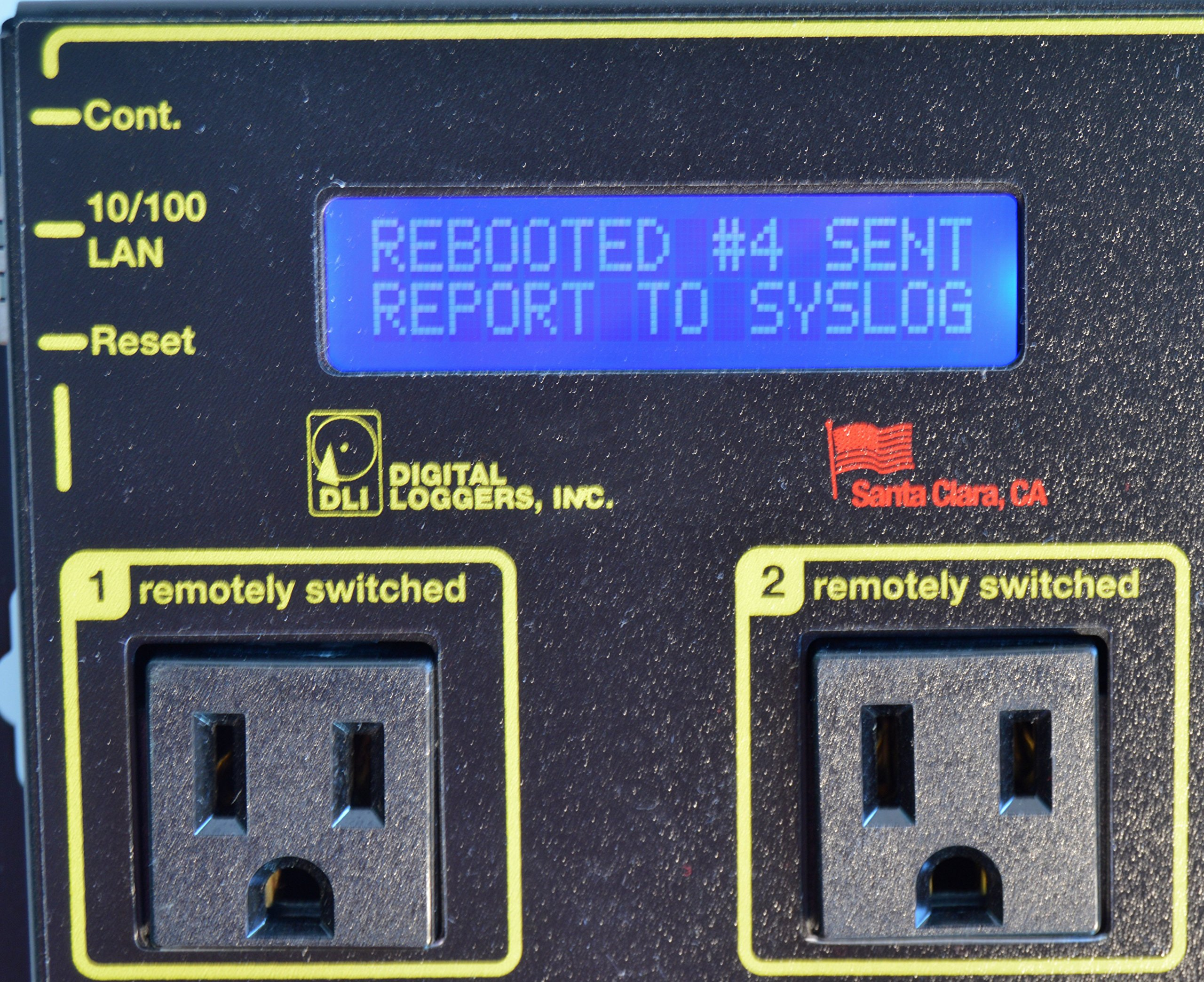 Web Power Switch 7 with HD Power Supply & Cord by DIGITAL LOGGERS (Image #2)