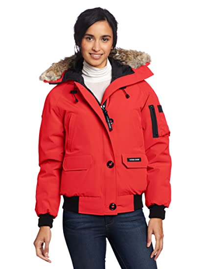 Canada Goose Women's Chilliwack Bomber, Red, X-Large