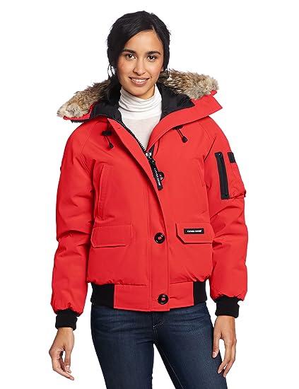19ddf145afa Canada Goose Women's Chilliwack Bomber, Red, XX-Small: Amazon.ca: Sports &  Outdoors