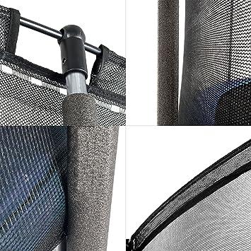 Ampel 24, Conjunto Cama Elastica Ø 305 cm Azul con Escalera y Kit ...
