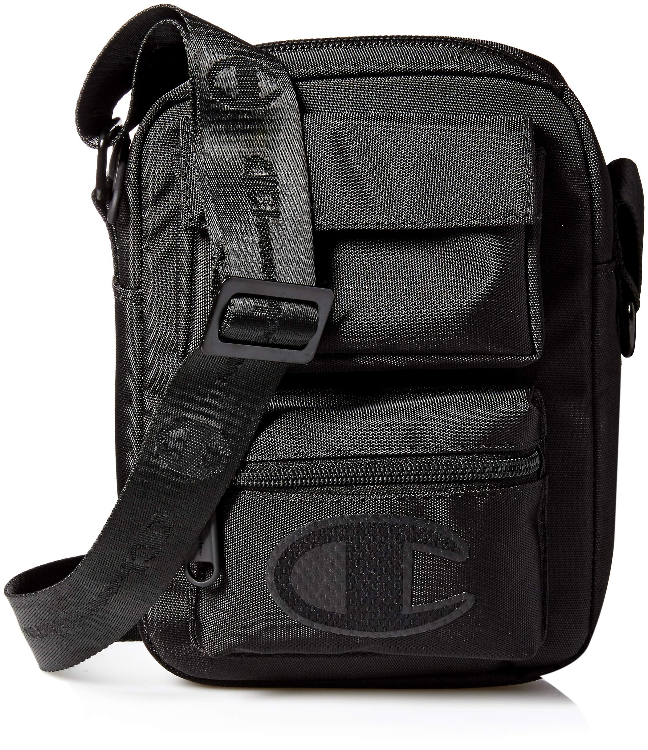 Champion Unisex-Adult's Stealth Cross Body Bag, black, One Size