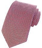"Elfeves Men Houndstooth Tie Fashion Handmade Geometric Novel Tonal 3.15"" Necktie"