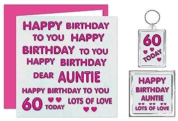 Auntie 60th Happy Birthday Gift Set