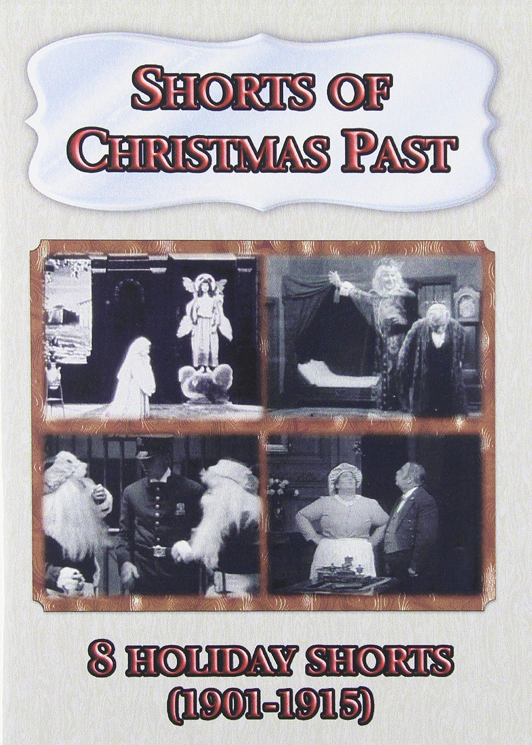 DVD : Shorts Of Christmas Past (Black & White, Silent Movie)