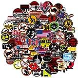 Hard Hat Stickers for Tool Box Helmet[Big-100pcs] - Funny Vinyl Sticker for Men Construction Welding Union Military…