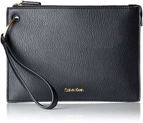 Calvin Klein - Iren3 Pouch, Carteras de mano Mujer, Schwarz (Black),