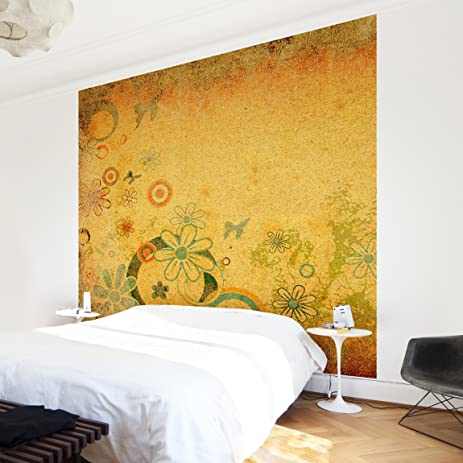 Non-woven Wallpaper Premium - Fantasia - Mural Square wallpaper wall ...