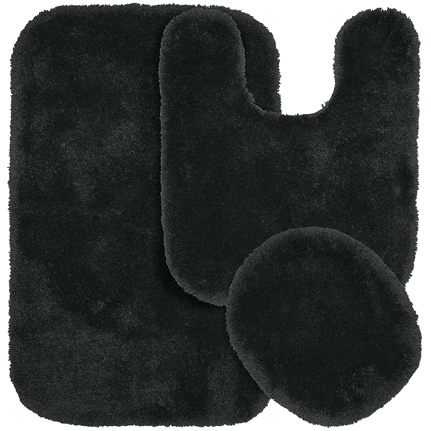 Amazon Garland Rug 3 Piece Finest Luxury Ultra Plush Washable