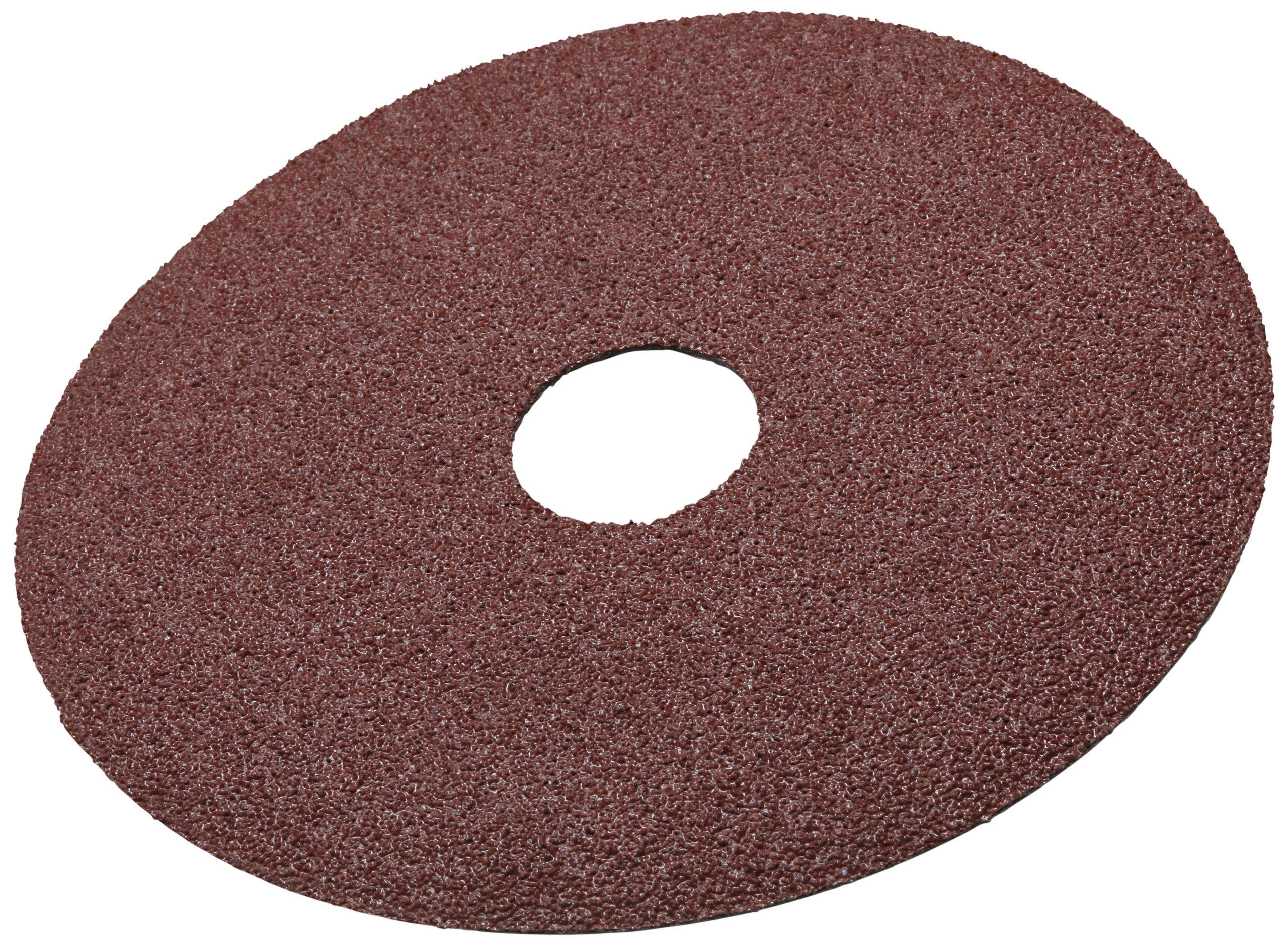 3M Fibre Disc 381C, Aluminum Oxide, 4'' Diameter, 50 Grit (Pack of 25)